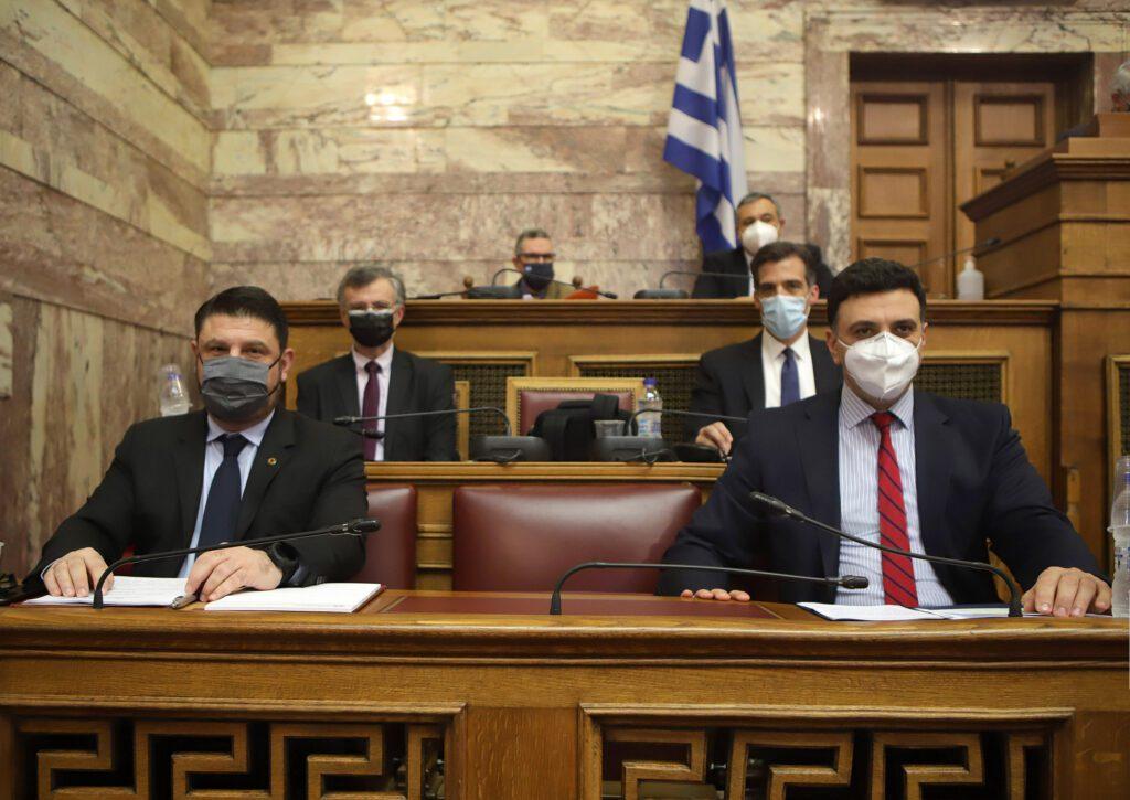 Σημεία ομιλίας Υπουργού Υγείας Βασίλη Κικίλια στην επιτροπή θεσμών και διαφάνεια της Βουλής των Ελλήνων