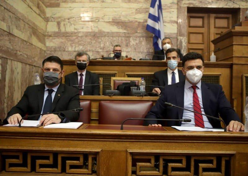 Ενημέρωση της Επιτροπής Θεσμών και Διαφάνειας της Βουλής από τον Νίκο Χαρδαλιά για το ρόλο της Πολιτικής Προστασίας στη διαχείριση της πανδημίας