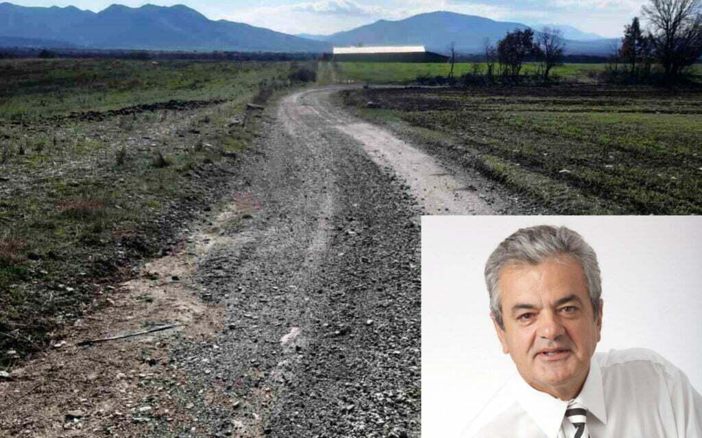Επισκευή και συντήρηση δρόμου από Τ.Κ. Δαφνερού έως όρια Ν.Γρεβενών | Γρηγόρης Τσιούμαρης