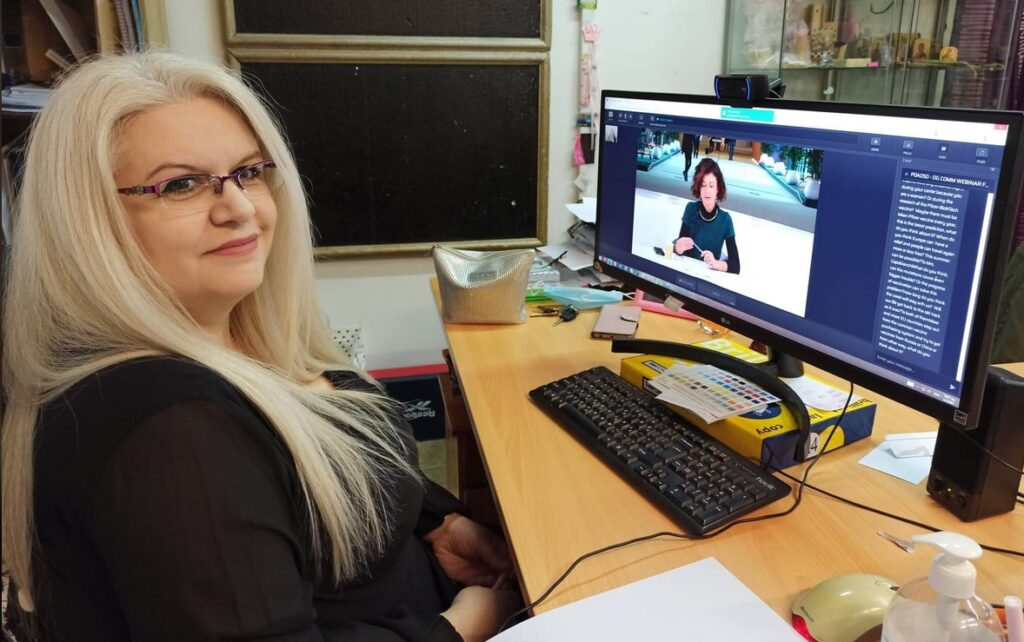 Η Κατερίνα Πρωτόγερου στο δημοσιογραφικό webinar «Γυναίκες σε ηγετικές θέσεις στη μάχη κατά της COVID-19»