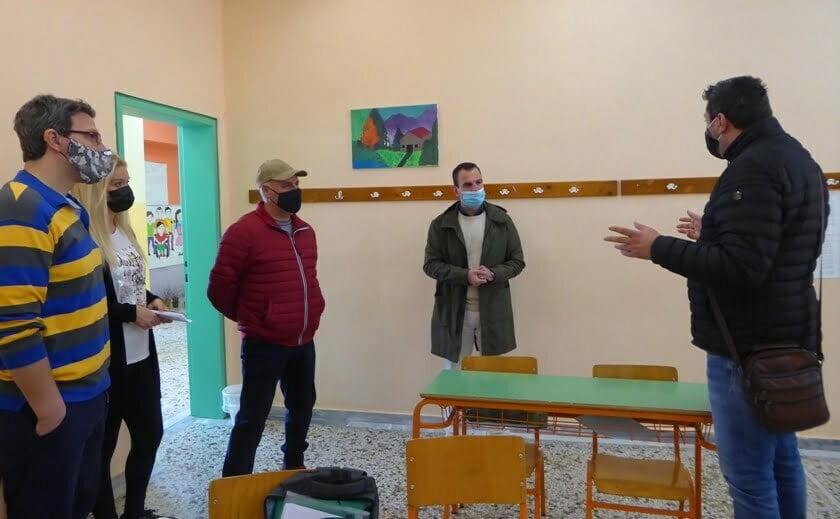 Επίσκεψη του Δημάρχου Καστοριάς Γιάννη Κορεντσίδη στο Ενιαίο Ειδικό Επαγγελματικό Γυμνάσιο - Λύκειο Καστοριάς