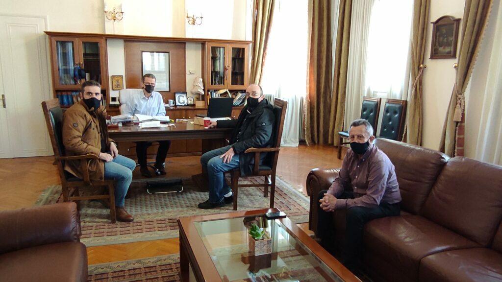 Κραυγή αγωνίας από τους επαγγελματίες: Συναντήσεις του δημάρχου Κοζάνης Λάζαρου Μαλούτα με το σωματείο καφέ-εστίασης και τον Εμπορικό Σύλλογο