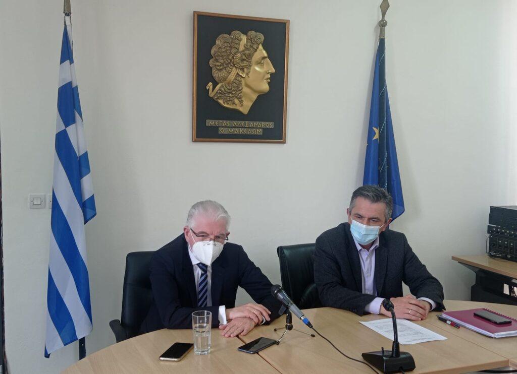 Επίσκεψη του Προέδρου ΕΛΓΑ κ. Ανδρέα Λυκουρέντζου στη Δυτική Μακεδονία για τις σοβαρές ζημίες από παγετό στις δενδρώδεις καλλιέργειες της Περιφέρειας