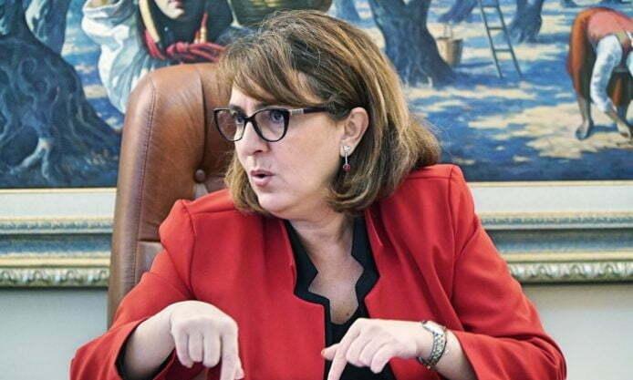 Ολυμπία Τελιγιορίδου - Συνάντηση με πρόεδρο ΕΛΓΑ για αποζημιώσεις.