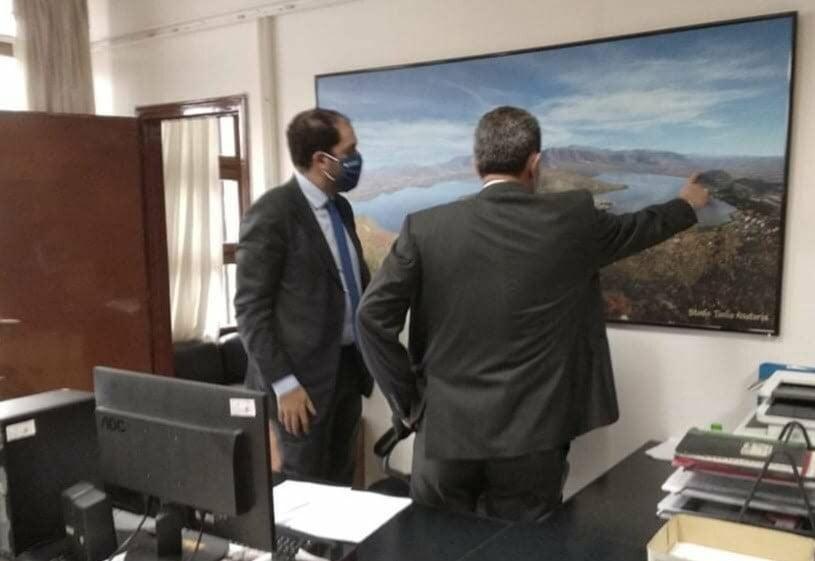 Επίσκεψη του Υφυπουργού Υποδομών & Μεταφορών κ. Γιάννη Κεφαλογιάννη στον Αντιπεριφερειάρχη Καστοριάς