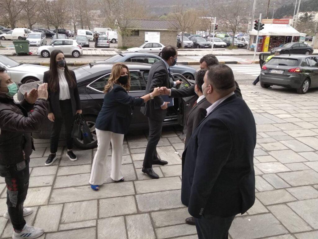 Επίσκεψη του Υφυπουργού Υποδομών & Μεταφορών κ. Γιάννη Κεφαλογιάννη στον Αντιπεριφερειάρχη