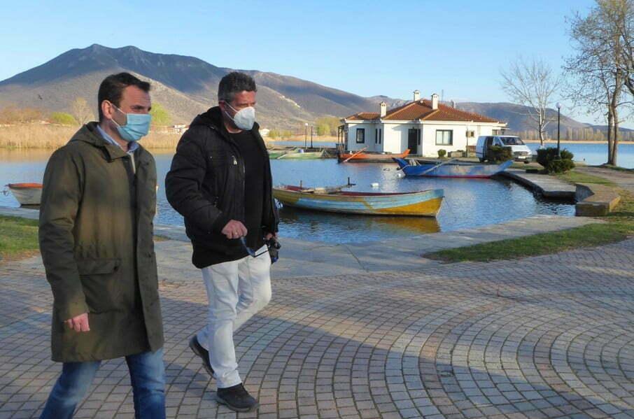 Επιτόπια αυτοψία του Δημάρχου Καστοριάς, Γιάννη Κορεντσίδη για προγραμματισμένες παρεμβάσεις σε Μαυροχώρι και Κορησό