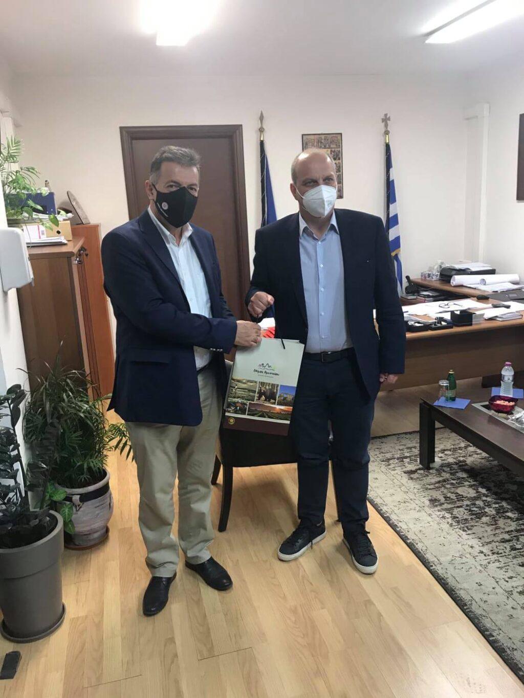 Συνάντηση του Δημάρχου Αμυνταίου Άνθιμου Μπιτάκη με τον Υφυπουργό Αγροτικής Ανάπτυξης κ.Γιάννη Οικονόμου