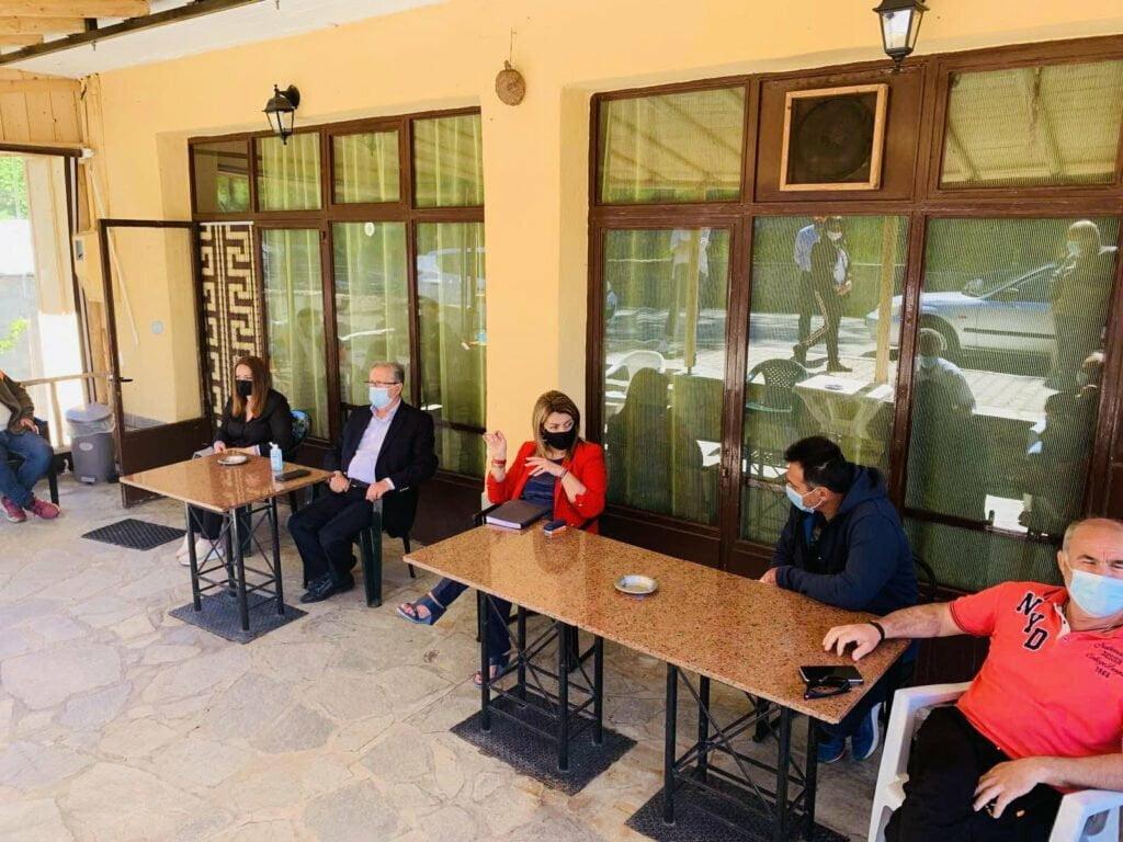 Στο Δήμο Νεστορίου η Επικεφαλής του Γραφείου του Πρωθυπουργού στη Θεσσαλονίκη Μαρία Αντωνίου
