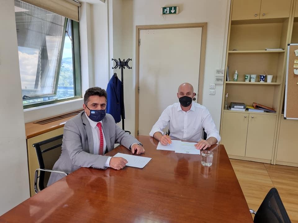 Ο Υφυπουργός Περιβάλλοντος Γιώργος Αμυράς δίνει λύσεις σε χρονίζοντα προβλήματα