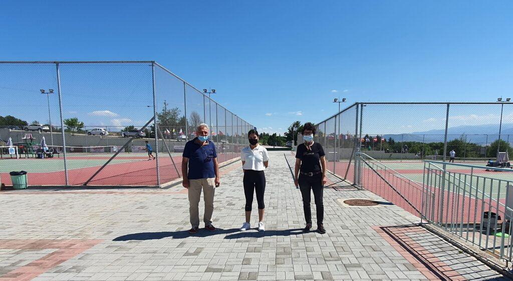 Εθελοντές και εθελόντριες του Πανεπιστημίου Δυτικής Μακεδονίας στο Ευρωπαϊκό πρωτάθλημα «Tennis Europe 2021».