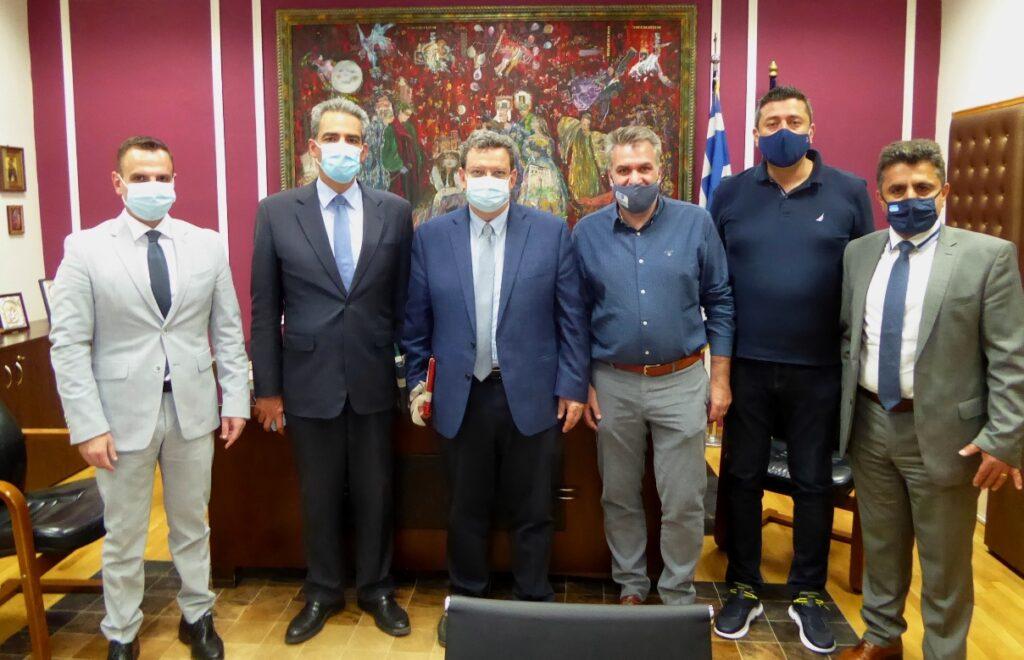 Ο Υφυπουργός Παιδείας και Θρησκευμάτων στο Δήμαρχο Καστοριάς Αναβάθμιση και ενίσχυση της τριτοβάθμιας εκπαίδευσης στην Καστοριά ζήτησε ο Γιάννης Κορεντσίδης