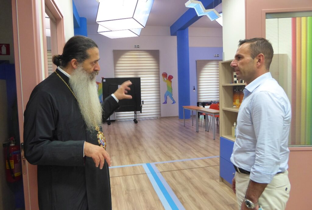 Τον Σεβασμιώτατο Μητροπολίτη Φθιώτιδος, κ. Συμεών επισκέφθηκε στη Λαμία ο Δήμαρχος Καστοριάς, Γιάννης Κορεντσίδης.