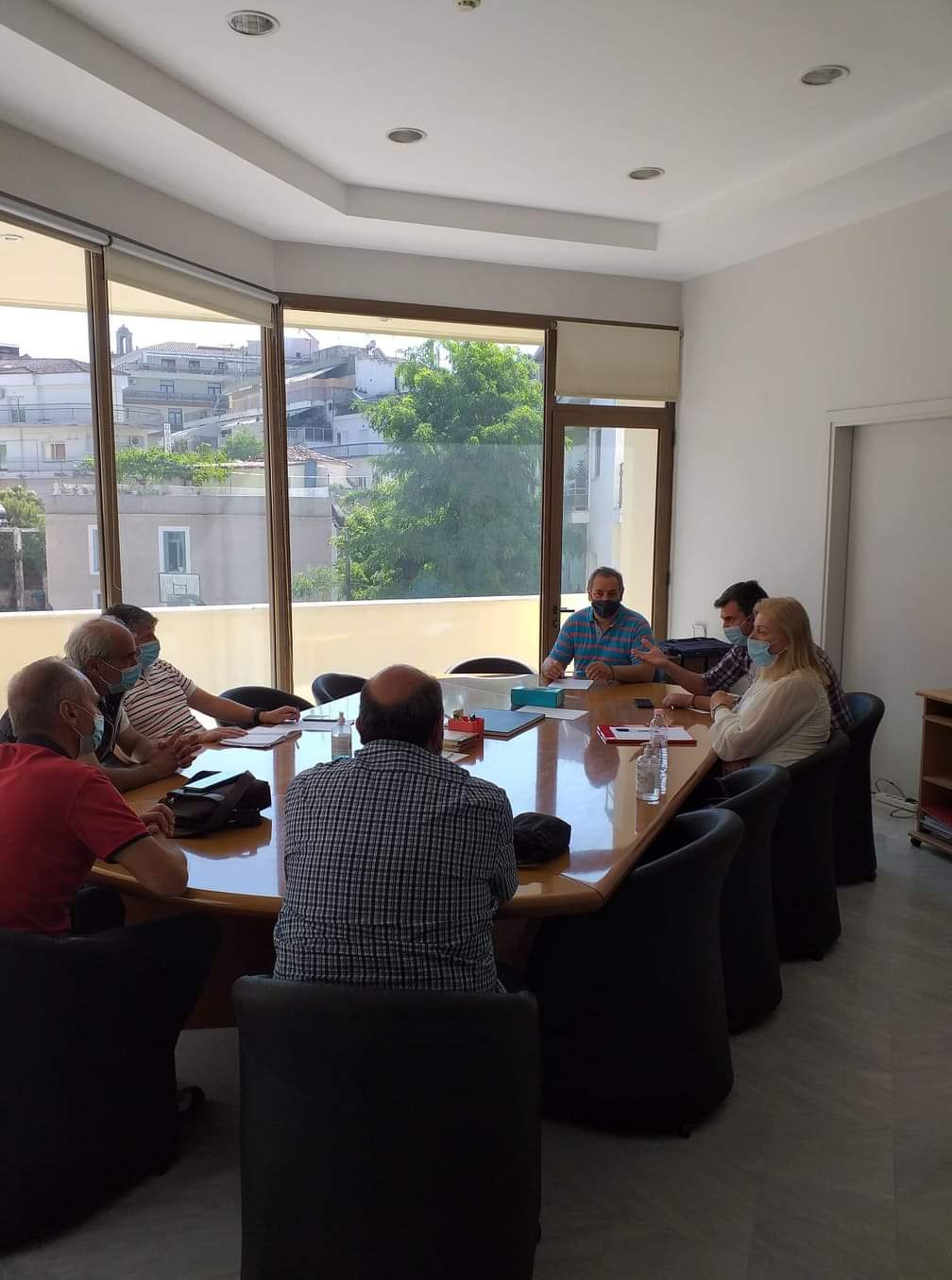 Συνάντηση του σωματείου εργαζομένων της ΔΕΥΑΚ με τη διοίκηση του ΤΕΕ/ΤΔΜ