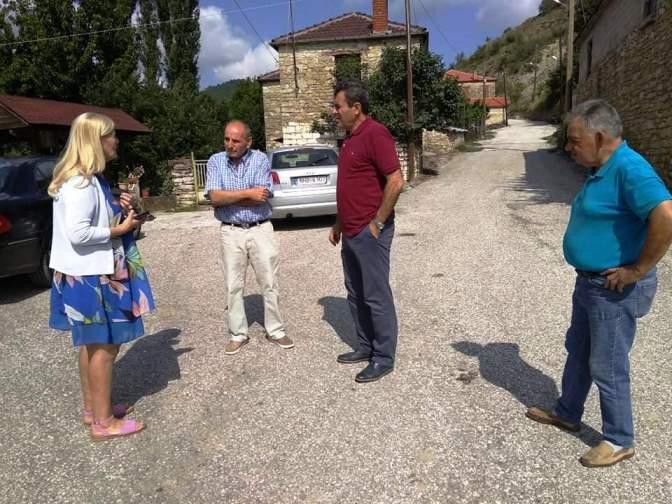 Κλιμάκιο Δ/νσης Αποκατάστασης Βορείου Ελλάδος σε Πτελέα - Κρανοχώρι