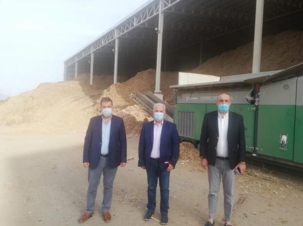Επίσκεψη Αντιπεριφερειαρχη Φλώρινας κου Ιωάννη Κιοσέ στις εγκαταστάσεις της Τηλεθέρμανσης Αμυνταίου