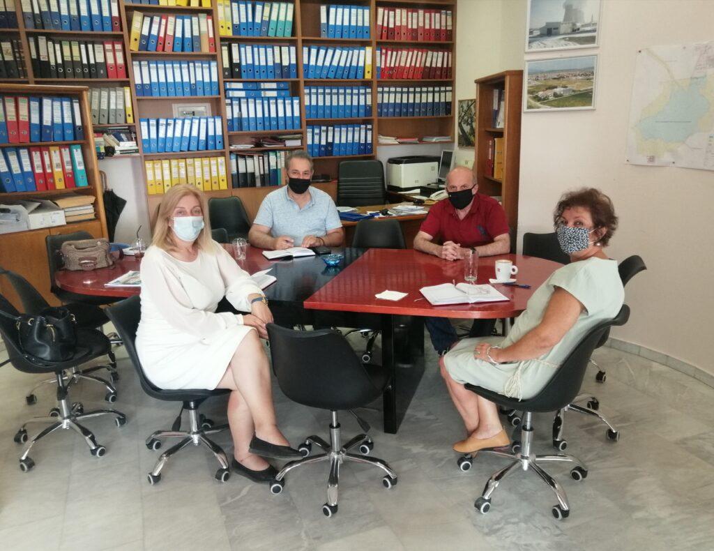 Επίσκεψη της Διοίκησης του ΤΕΕ/ΤΔΜ στη Δημοτική Επιχείρηση Τηλεθέρμανσης Πτολεμαΐδας (ΔΕ.ΤΗ.Π.)