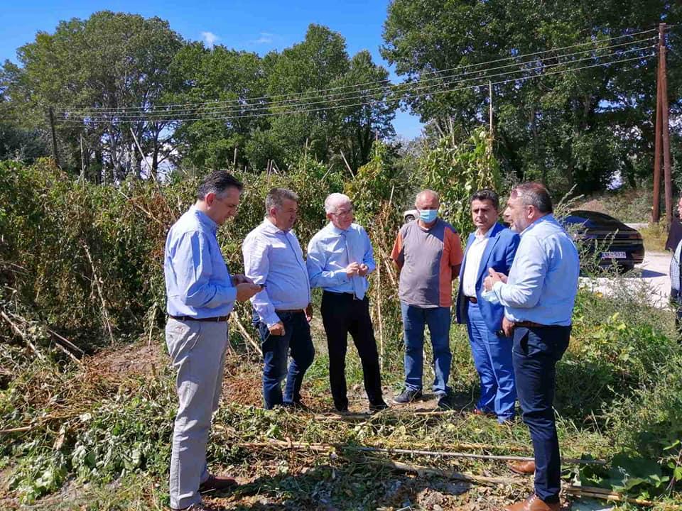 Ικανοποιημένοι οι αγρότες από τις ξεκάθαρες δεσμεύσεις Λυκουρέντζου.