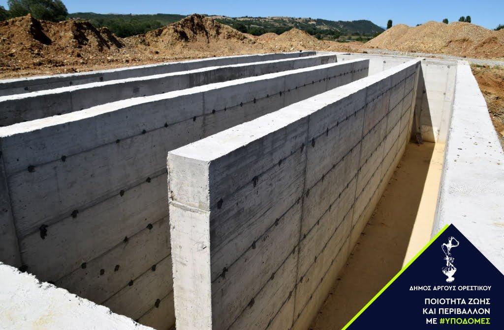 «Τρέχουν» οι εργασίες του Βιολογικού στον Δήμο Άργους Ορεστικού - Το 2022 η ολοκλήρωση του έργου