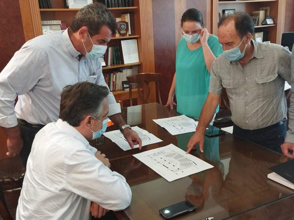 Συνάντηση Εργασίας του Περιφερειάρχη Δυτικής Μακεδονίας για θέματα που αφορούν το Διοικητήριο της Π.Ε. Καστοριάς