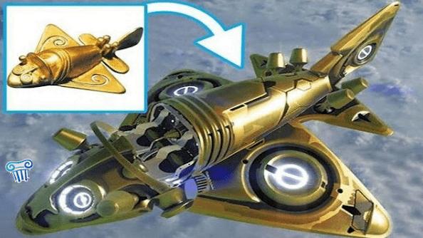 Το χιλίων ετών χρυσό αεροπλάνο του πολιτισμού Quimbaya που πετάει