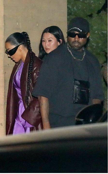 Η Kim Kardashian και ο Kanye West βγήκαν μαζί - φυσικά, με στιλ