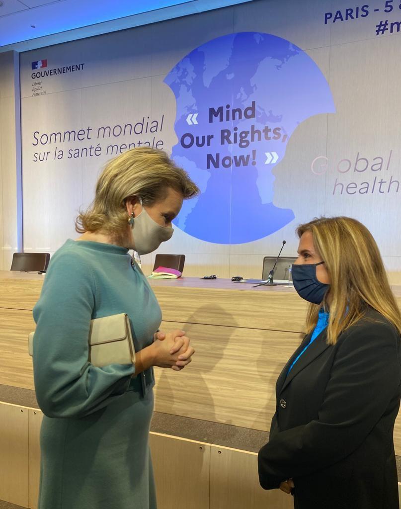 """Παγκόσμια Σύνοδος Κορυφής για την Ψυχική Υγεία """"Mind our Rigths, Now"""""""
